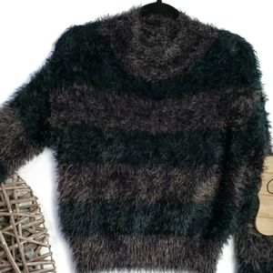 Top Shop Cozy Plush Cropped Sweater